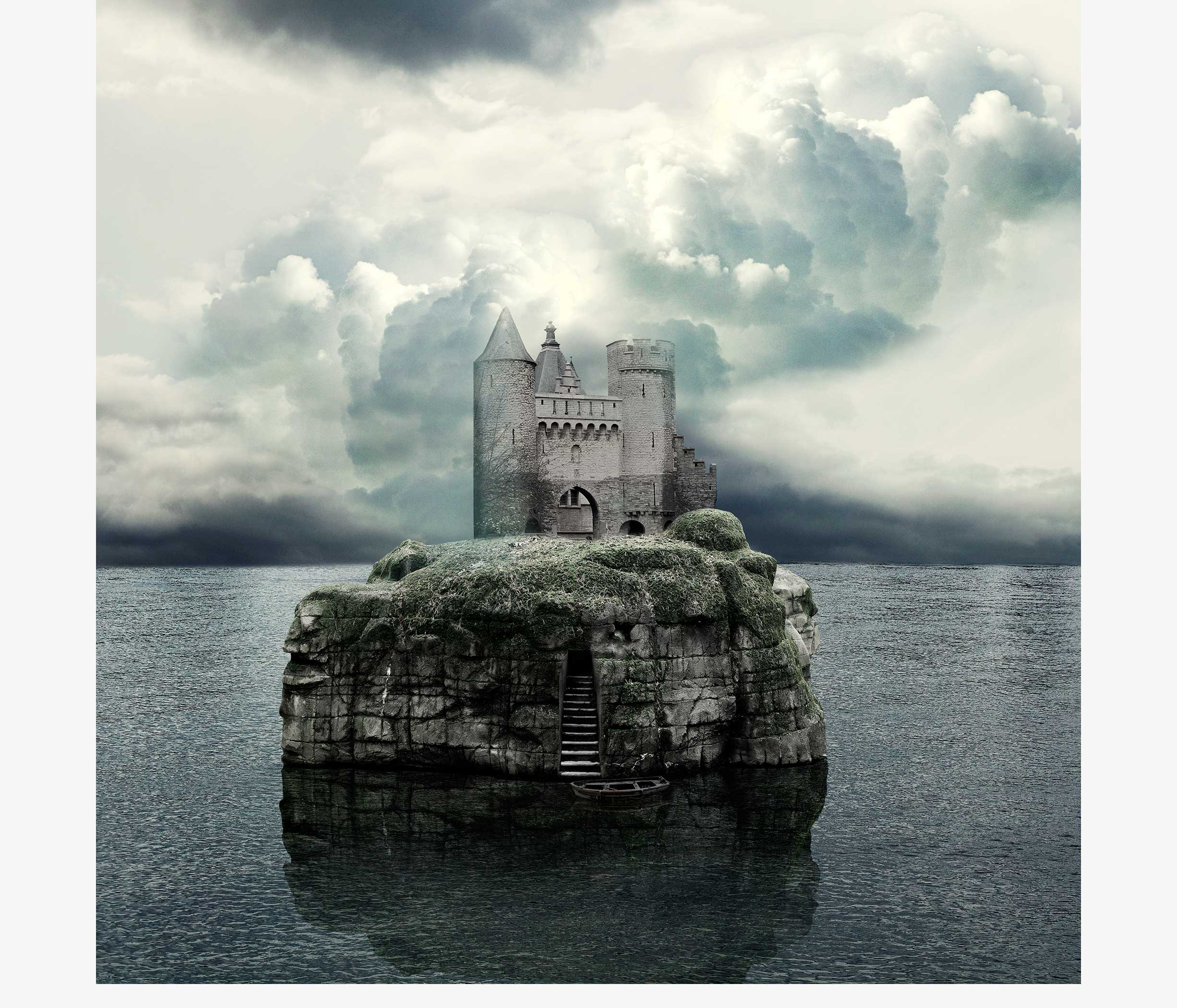 mysterious castle for the odd scenery photo serie