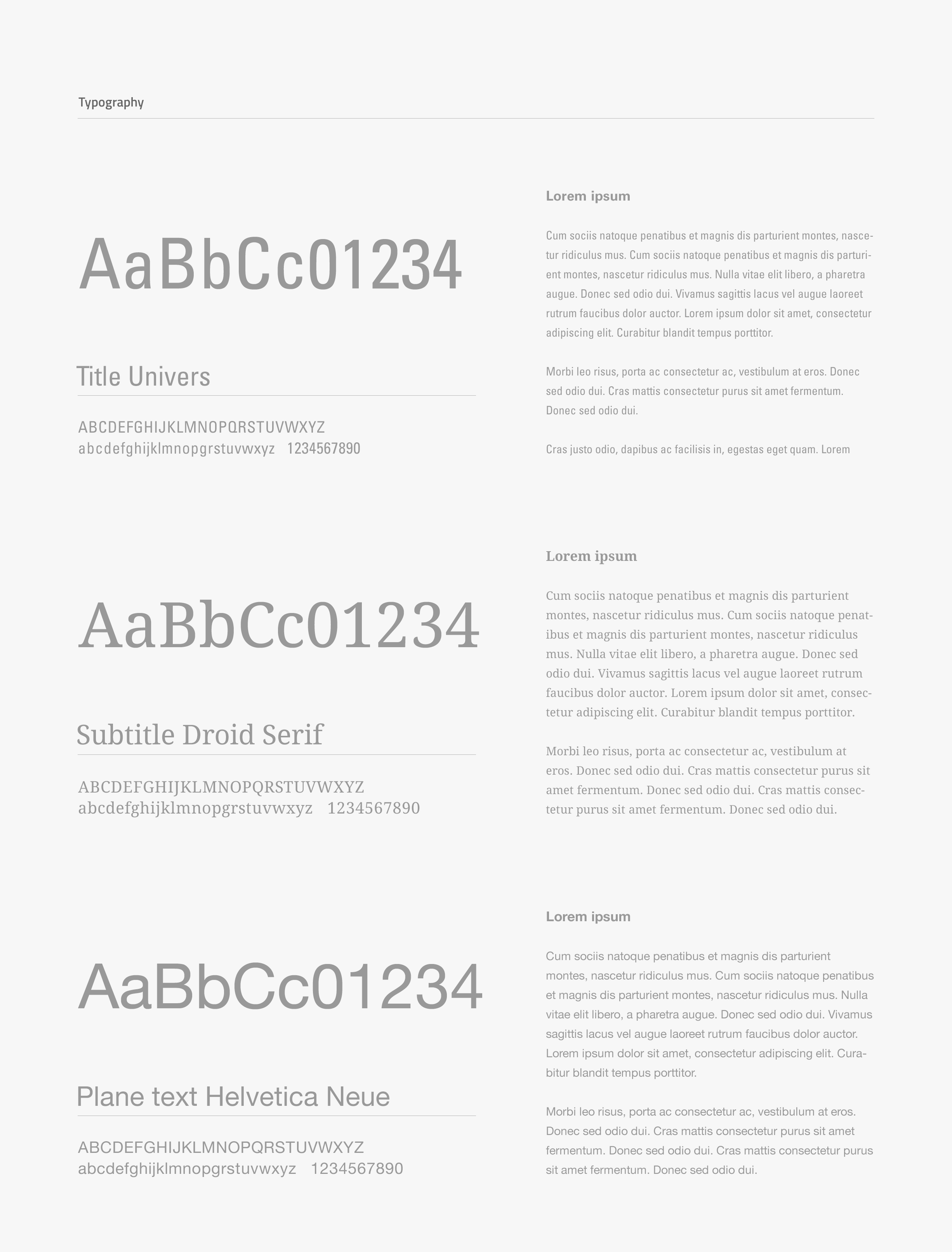 Blogpost - typography