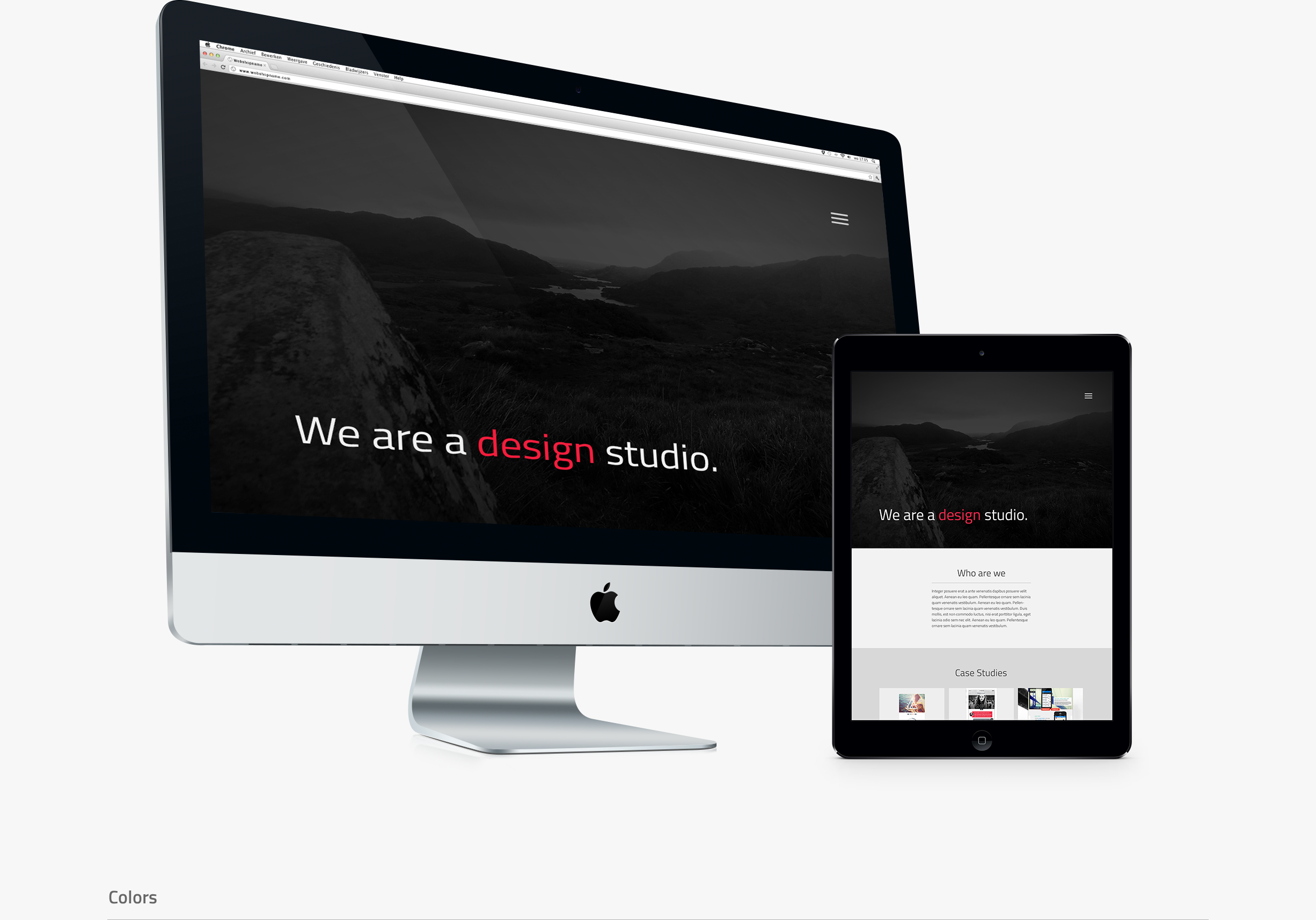 Website Design Studio - header