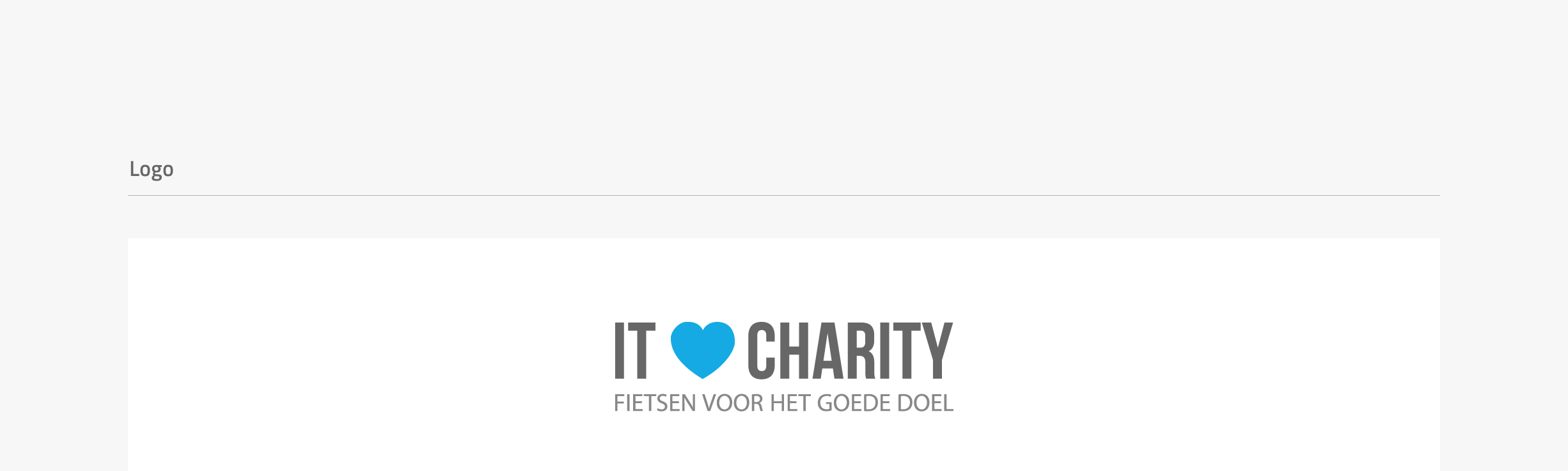 IT for Charity website - final logo